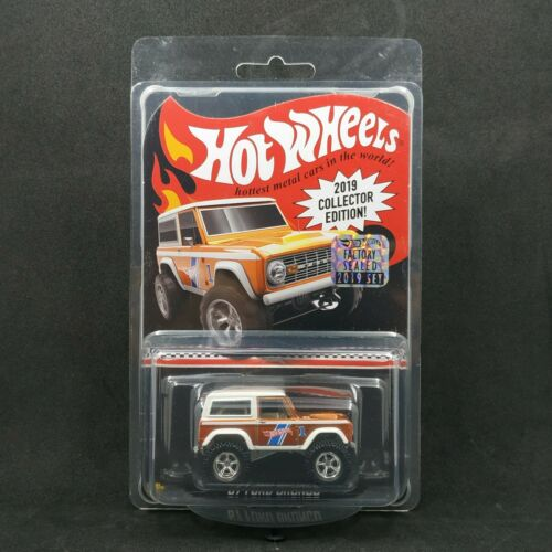 HOT WHEELS MAIL IN 2019 COLLECTOR EDITION /'67 FORD BRONCO W// PROTECTOR
