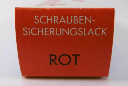 Bäder Schrauben-Sicherungslack ROT