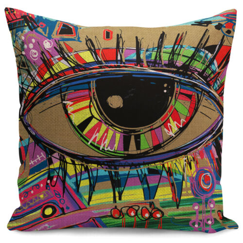 Graffiti Oil Painting Pillow Covers for sofa Fashion Art Deco Style Pillow Cases