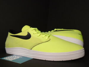 outlet store ef08a 3bb80 Image is loading 2013-Nike-Dunk-LUNAR-ONESHOT-SB-VOLT-NEON-