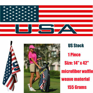 Microfiber-Golf-Towel-Club-Cart-14-034-42-034-Jacquard-Titleist-TaylorMade-New-US