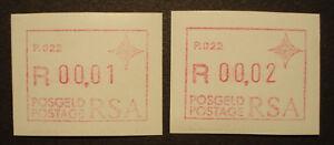 Mn 3,p 022 Postfrisch Das Ganze System StäRken Und StäRken Swa 1987 Frama Labels Atm Südafrika South Africa