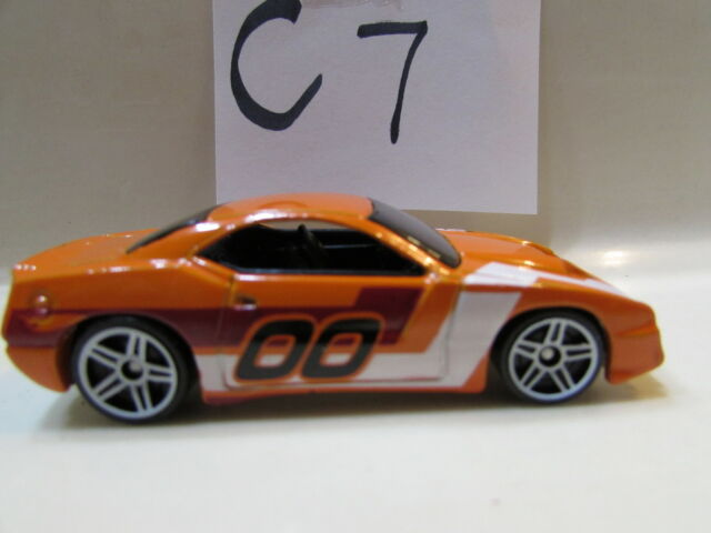Hot Wheels 2007 Mystery Rapid Tráfico Naranja Loose