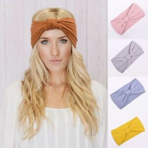 Women-Turban-Headband-Twisted-Knotted-Girls-Hair-Accessories-Elastic-Hair-Bands