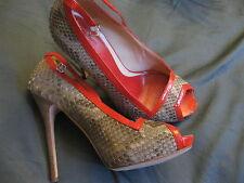 Alexander McQueen 198956 WOMEN'S SNAKE SHOES High Heels Pumps