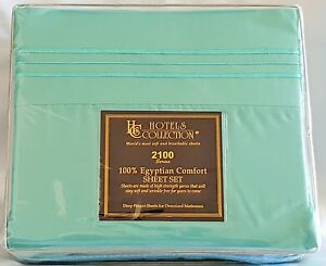 HCS Hotels Collection 2100 Premier series 3,4&5 pcs sheet set.(THICKER & SOFTER)