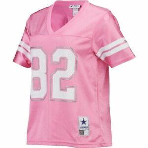Details about NWT Jason Witten 82 Jersey Women's Dallas Cowboys Pink/White Mesh Sz s M/34
