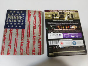 The-Purge-Anarchy-Limited-Edition-Steelbook-Blu-Ray-Spagnolo-English-Am