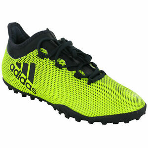 Adidas-X-Tango-17-3-Turf-J-Shoes-Men-Adult-Neon-Yellow-Cleats-CG3727-Soccer-9