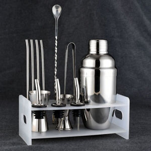 Fsshion-Cocktail-Shaker-Set-Stainless-Steel-5-Piece-Kit-Set