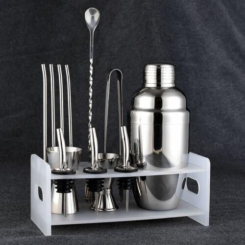 Fsshion Cocktail Shaker Set Stainless Steel 5 Piece Kit Set