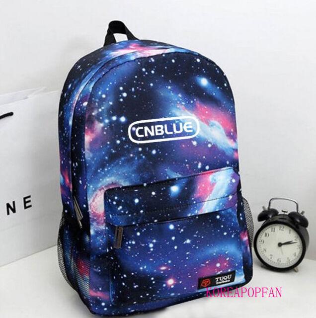 CNBLUE C.N.BLUE BAG BACKPACK SCHOOLBAG BLUE KPOP NEW