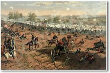 Battle of Gettysburg by Thure de Thulstrup - NEW Classroom Social Studies POSTER