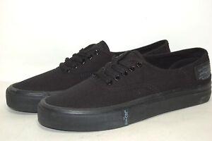 Levi-039-s-Rylee-3-Buck-Black-514742-A48-Canvas-Shoes-Men