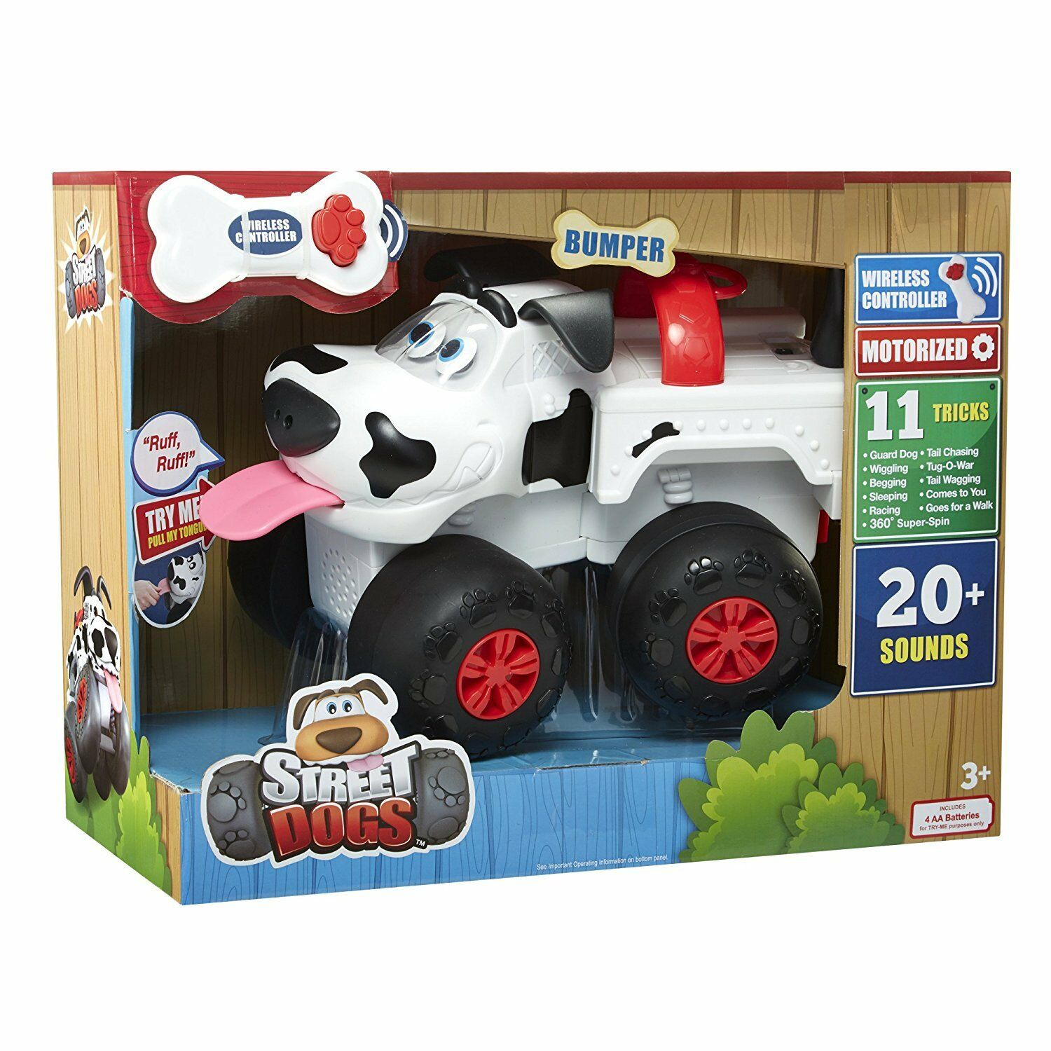 Street Dogs Bumper Electronic Toy