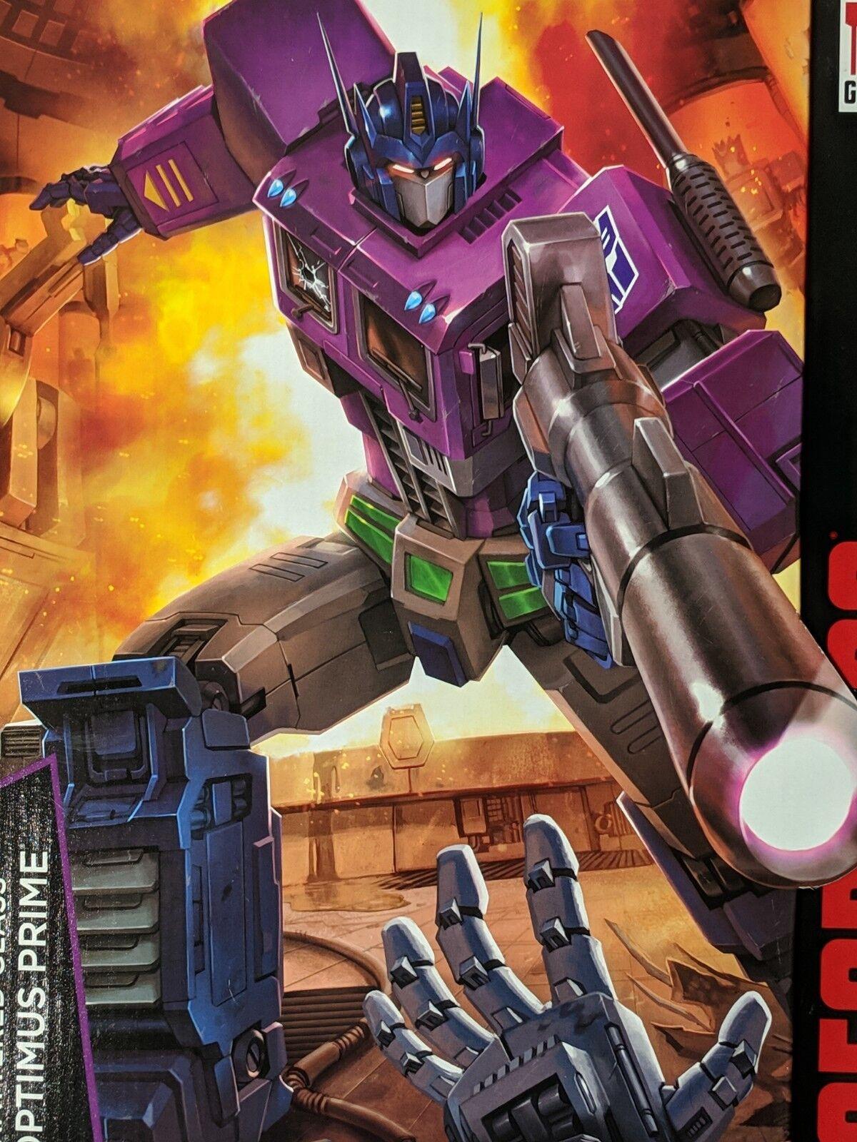 Transformers Masterpiece de vidrio destrozado Hasbro Optimus Prime
