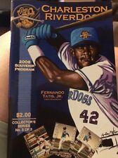 2008 Charleston Riverdogs Souvenir Baseball Program Collectors (KC)