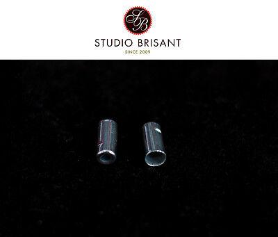 NEW Jagwire 5 mm * gedichtet * Endkappen Messing Bremszughülle 4 Stück