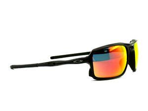 2603df131d Image is loading oo9266-03-Oakley-Sunglasses-Triggerman-Polished-Black-Ruby-