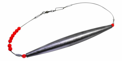 Wahoo Lure Set for High Speed Trolling 4 leurres choc des leaders sac 2 poids
