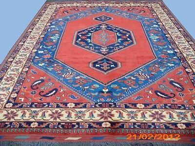 Orientteppich Nomaden Teppich Turkmen Kazak Unikat exklusiv 350x270 cm NEU
