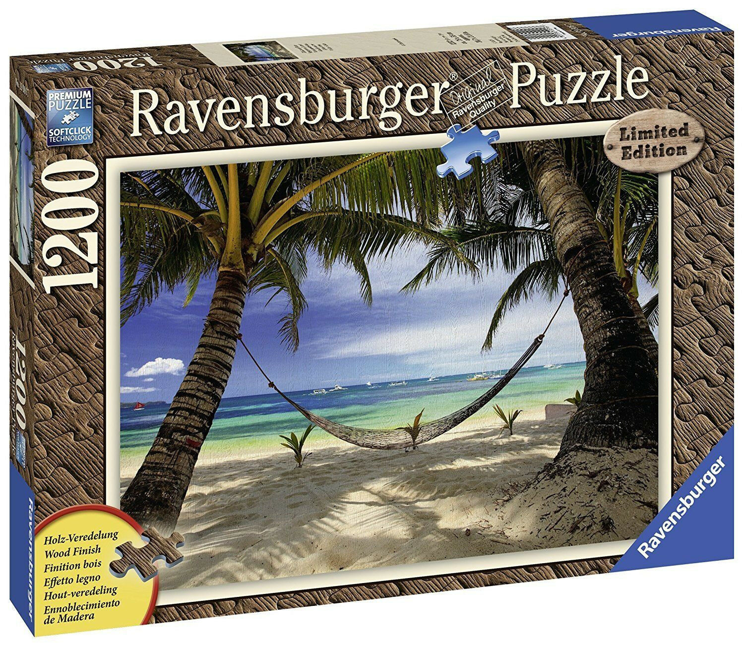 Ravensburger Limited Edition - Ocean View - 19916 - 1200 Pieces - Brand New