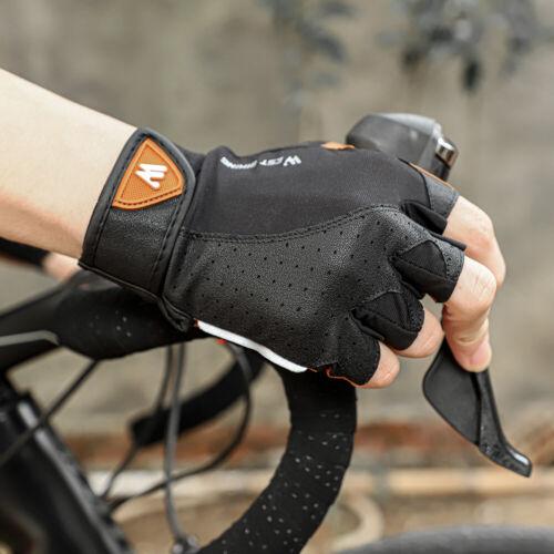 WEST BIKING Half Finger Cycling Gloves Anti-slip Breathable Men Anti-shock Muffs
