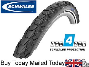 Schwalbe Marathon Cross 700 x 38c Road & Cross Adventure Bike RaceGuard Tyres