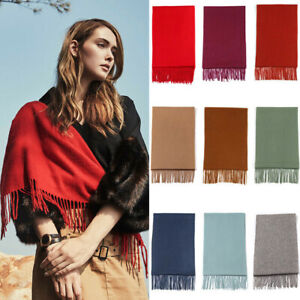Australia-UGG-Pure-Wool-Scarf-with-Fringe-Wrap-168CM-x-30CM