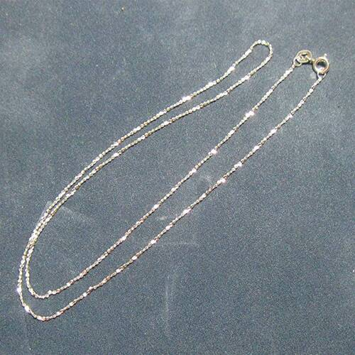 Sterling silver /'fancy/' chain necklace Select length ᴴ J2