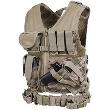 Multicam Tactical Vest / MTP Combat Assault Airsoft Army Molle Attachment Rig