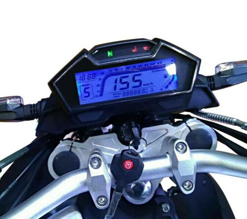 collectivedata.com Motorcycle Tachometer Speedometer LCD Digital ...