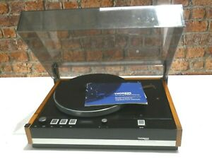 Thorens-TD-126-MKII-ELECTRONIC-Vintage-Record-Vinyl-Deck-Player-Plattenspieler