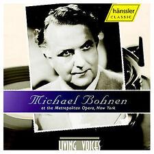 Audio CD Michael Bohnen at the Met - WAGNER / VERDI / MEYERBEER - Free Shipping