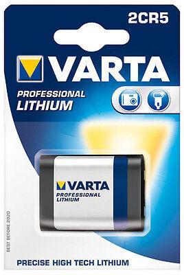 1 Pezzi Varta Foto Batteria Litio 2cr5/6v/6203- Luminoso A Colori