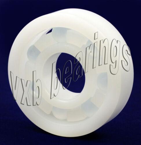 Plastic Bearing POM 6202 Glass Balls 15mm x 35mm x 11mm  Ball Bearings Acetal
