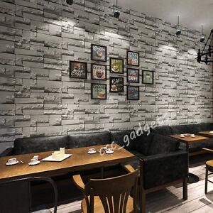 3d textured muriva slate brick wall effect wallpaper for 3d effect bedroom wallpaper