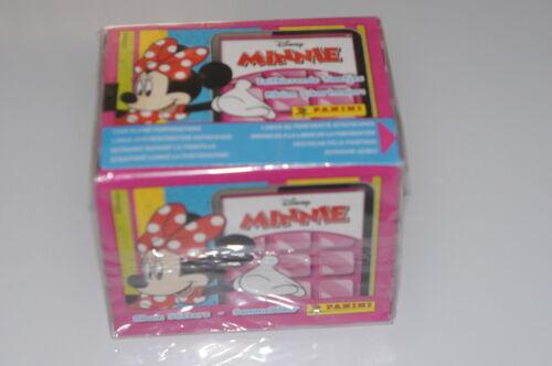 BOX PANINI FIGURINE DISNEY MINNIE SIGILLATO FULL 50 BUSTINE SEALED PACKETS