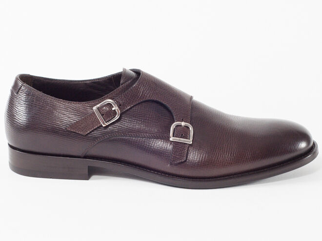 New Baldinini  Dark Brown Pelle Pelle Pelle Made in Italy Shoes Size 45 US 12 aded56