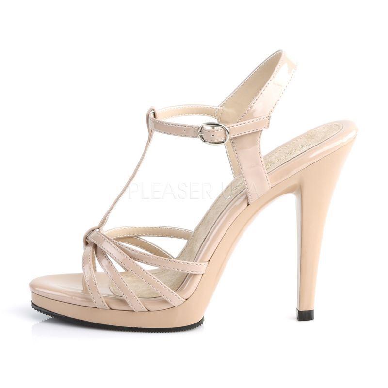 Sandaletten Beige FLAIR-420 Beige Sandaletten Fabulicious Sandaletten FLAIR-420 Beige cdb29e