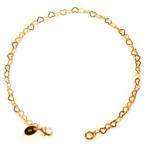 Coeur Bracelet Argent 925 Bracelet en Argent Argent or ou Rose