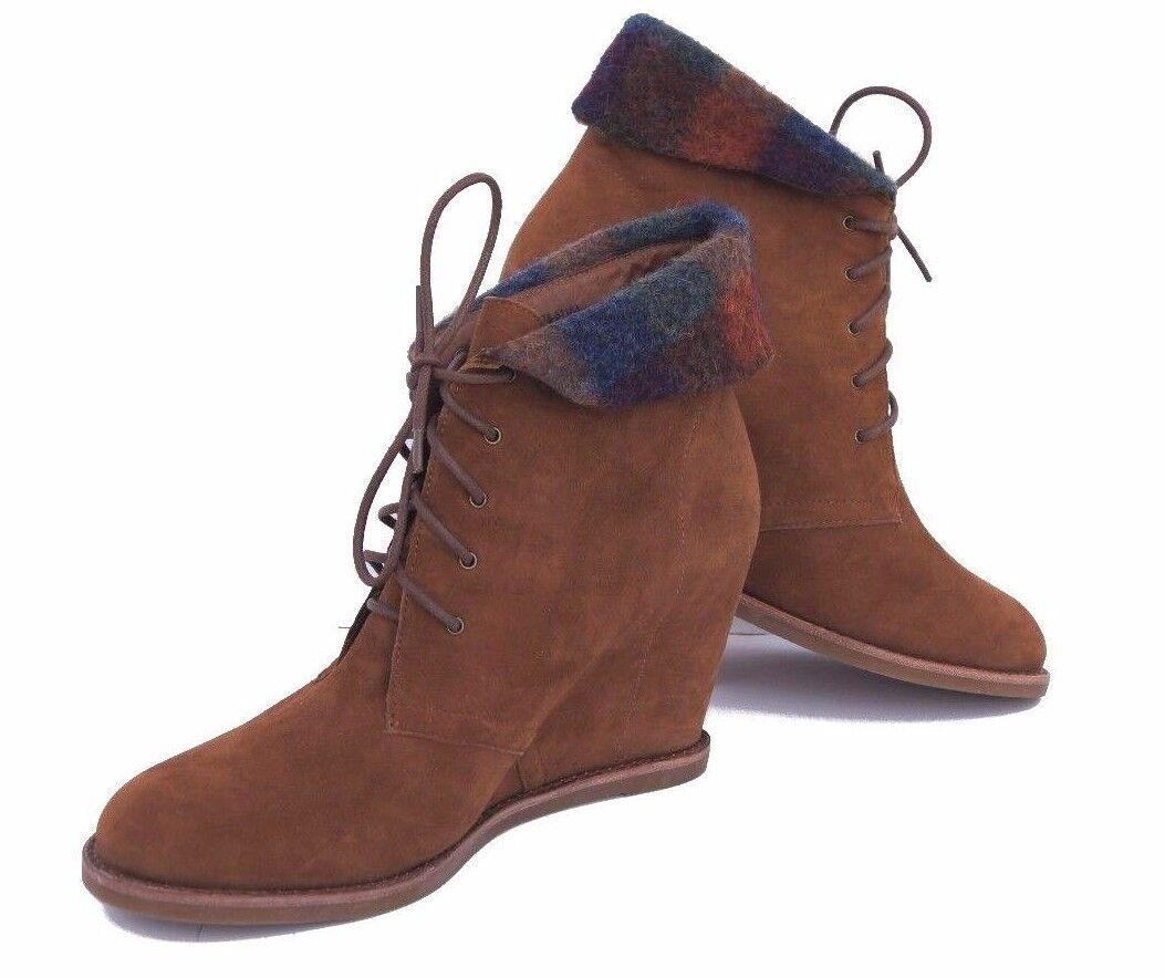 negozio online outlet Johnston and Murphy donna donna donna Chukka stivali Italian Wool Cuffs NIB scarpe Dimensione 9.5 &10  disponibile