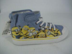 H-amp-M-Minion-Printed-Basketball-Shoes-UK-13-EU-32-JS093-CC-14