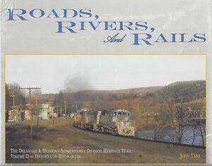 Strade-Fiumi-e-Rails-Delaware-amp-Hudson-Vol-2-Oneonta-a-Binghamton-Nuovo