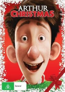 Arthur-Christmas-Repackaged-DVD-NEW-Region-4-Australia