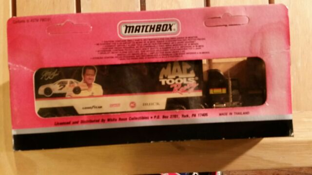 SUPER STAR TRANSPORTERS MATCHBOX MIB CY104 MAC TOOLS RACING 1992 GRAND NATIONAL