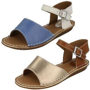 Sandali Donna Clarks ORIGINALI Scarpe in Blu Taglia UK 8