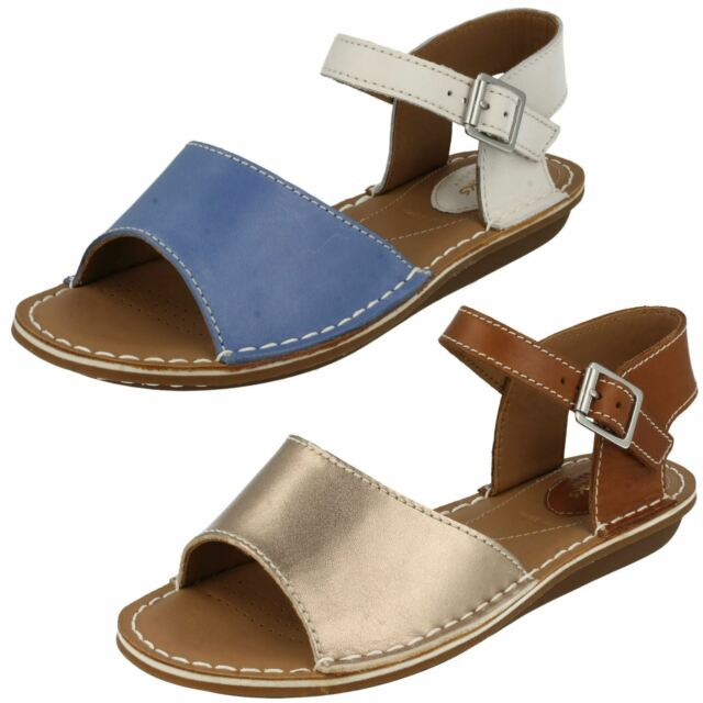 6332e7b72a190 Ladies Clarks Leather Sandals UK Sizes 3-8 E Fitting Tustin Sinitta