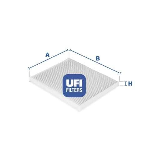 Fits Fiat Grande Punto 199 1.2 Genuine UFI cabine Pollen Intérieur Filtre à air