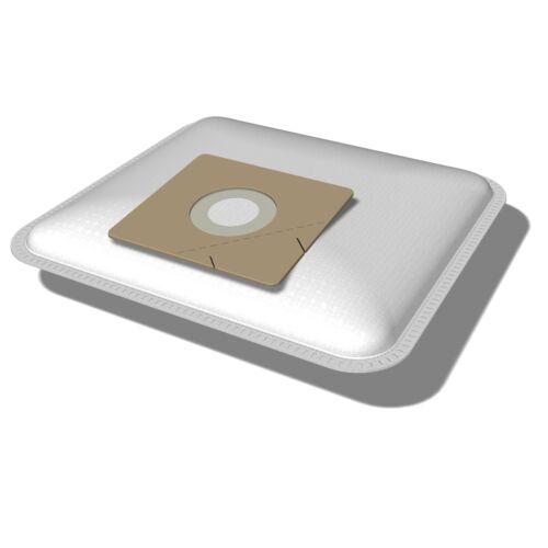 10 Staubsaugerbeutel SPU1 geeignet für Quigg BS 1600 Turbo